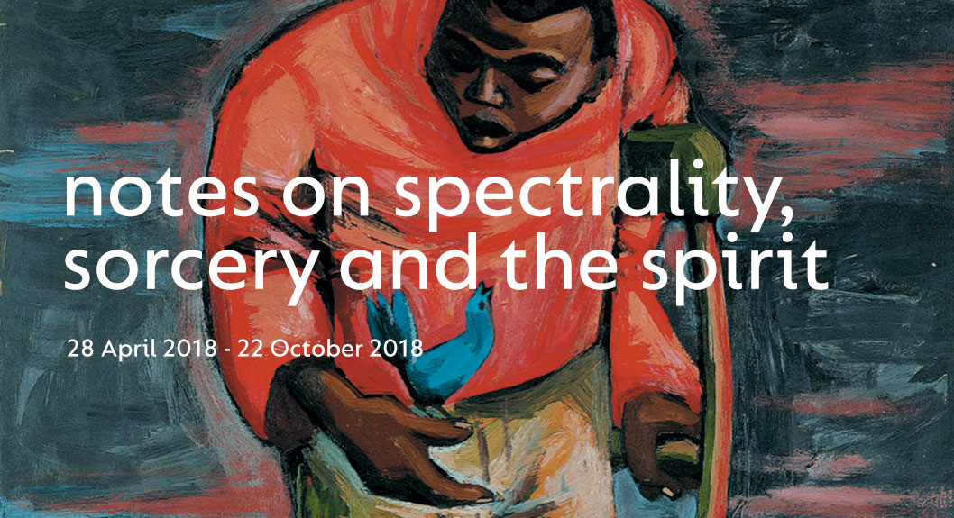 notes on spectrality, sorcery and the spirit