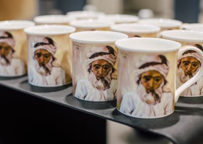 Irma Stern Fine Bone China mugs from DUNOON