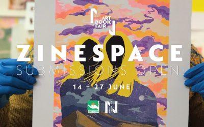 Zine Space at Cape Town Art Book Fair 2021